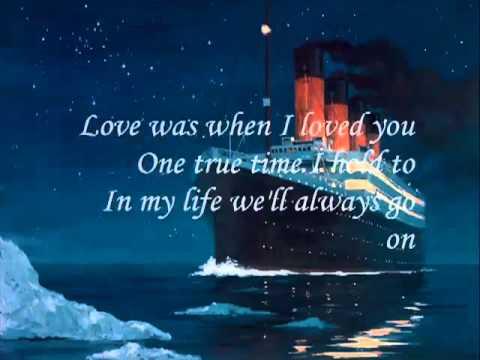 titanic şarkı sözleri ingilizce